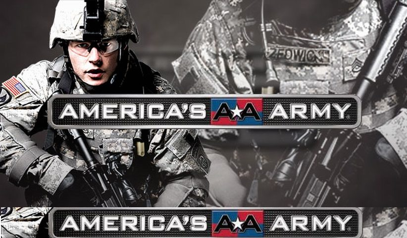 american army 822x480 - From America's Army to Call of Duty : Doing Battle with the Military Entertainment Complex
