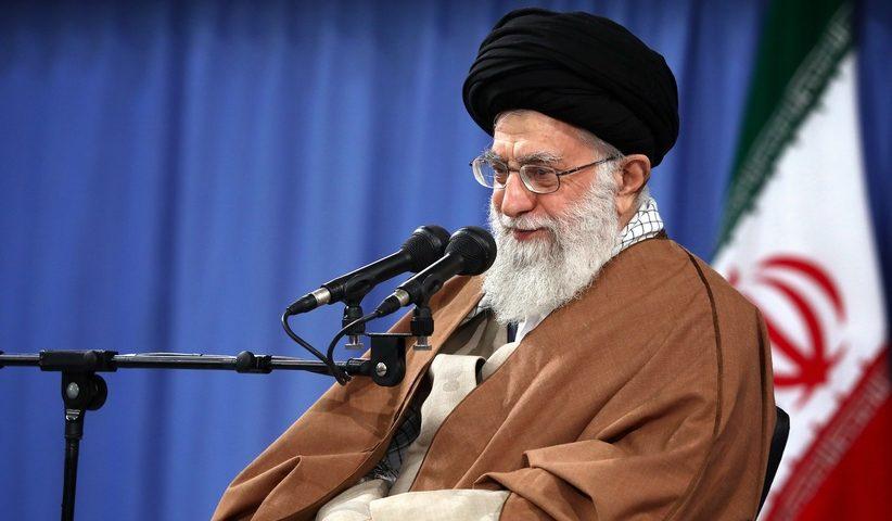 imam.khamenei.01 822x480 - مواظب شلّیک توپخانهی دشمن باشید در  فضای مجازی