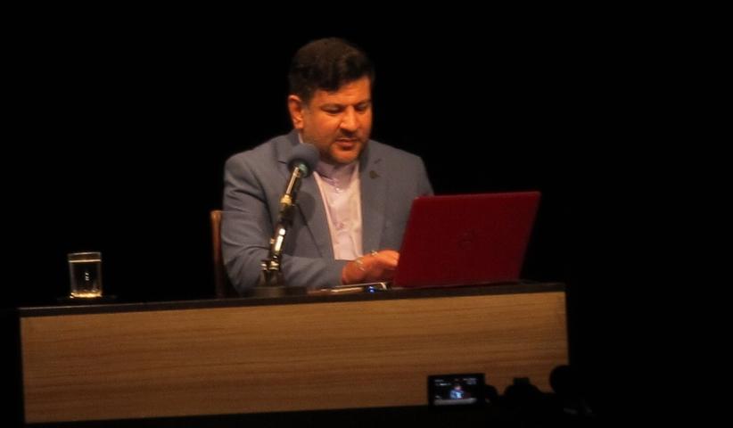tehran.mouood.961028 - گزارشی از نشست پساآخرالزّمان و آرمگدون در بازیهای رایانهای