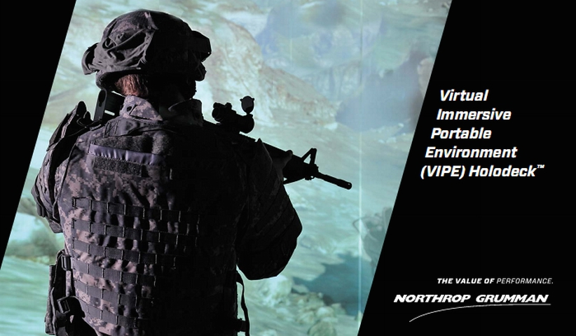 A Holodeck Videogame Designed to Train Soldiers - شبیه سازی میدان جنگ با بازی ویدیویی