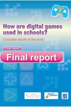 how are digital game use in school full report - how are digital game use in school: full report