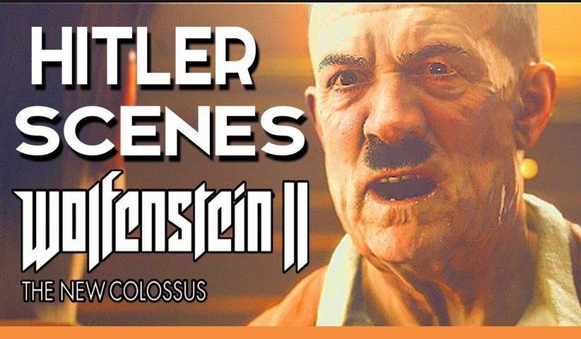 wolfenstein ii the new colossus hitler 822x480 - لغو یک ممنوعیت تاریخی: آلمانیها اجازه دادند در بازیهای کامپیوتری از نمادهای نازی استفاده شود
