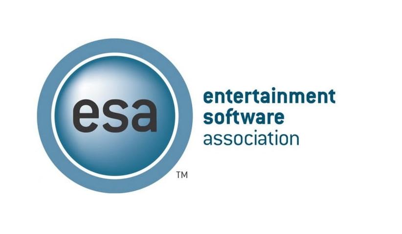 ESA.The Entertainment Software Association.LOGO  - انجمن نرم افزارهای سرگرمی آمریکا (ESA)