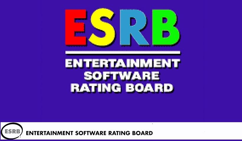 ESRB.Entertainment Software Rating Board.LOGO  - نظام رده بندی بازی های رایانه ای آمریکا ایاسآربی (ESRB)