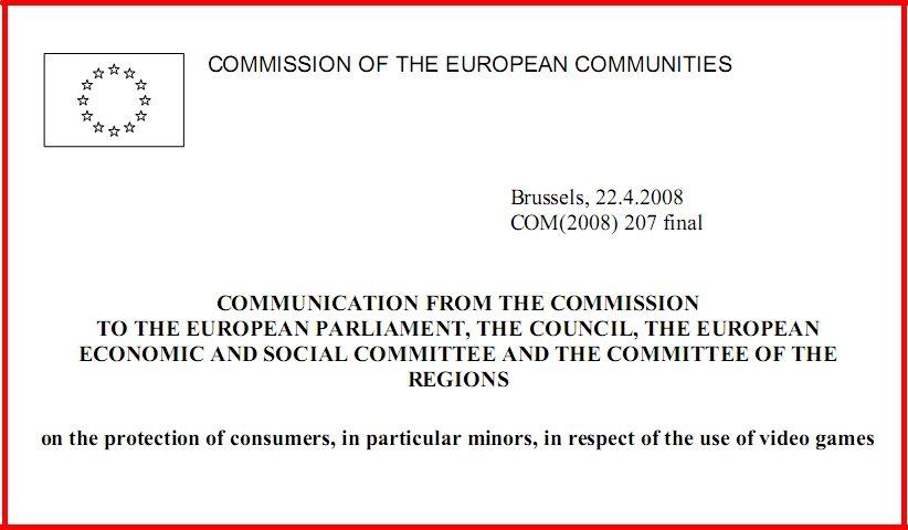 protection of consumers in particular minors in respect of the use of video games 822x480 - سند اتحادیه اروپا در حفاظت از مصرف کنندگان، به ویژه کودکان، در رابطه با استفاده از بازی های ویدئویی