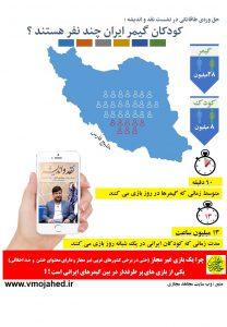 irna .13 milion. 1 208x300 - اینفوگرافی|کودکان گیمر ایران چند نفر هستند ؟