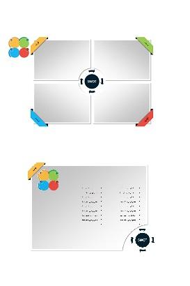 PowerPoint.D.A.SWOT .3.shop  - پاورپوینت . تجزیه و تحلیل SWOT . مدل 3