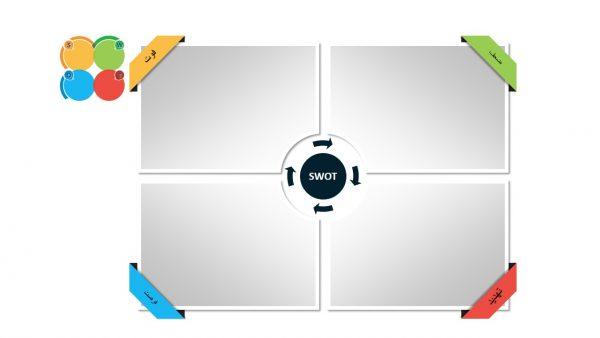 PowerPoint.D.A.SWOT .3.w.1 600x338 - پاورپوینت . تجزیه و تحلیل SWOT . مدل 3