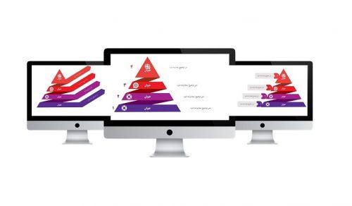 powerpoint.infografic.pyramid.widescreen.2.S 500x292 - قالب پاورپوینت | هرم | اینفوگرافیک | 2