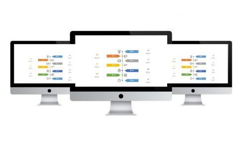 powerpoint.infografic.timeline.widescreen.3.f.s 500x292 - پاورپوینت   اینفوگرافیک   تایم لاین   3