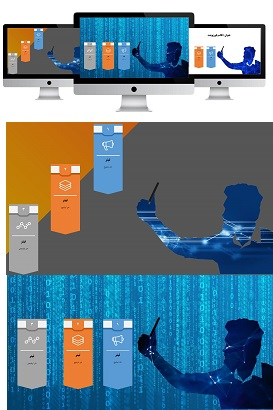 POWERPOINT.human and Mobile.Selfie.infografic.1.f.widescreen.shop  - پاورپوینت | اینفوگرافیک | انسان و سِلفی | 1