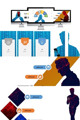 POWERPOINT.human and Mobile.1part.infografic.2.widescreen.shop  - پاورپوینت |اینفوگرافیک | انسان و موبایل| یک بخشی| 2